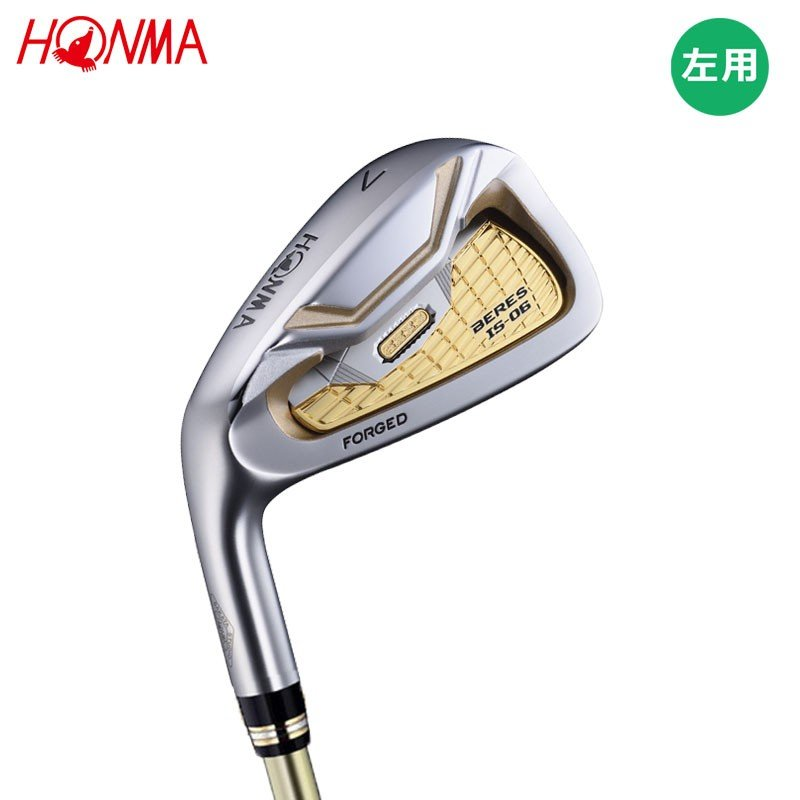 3Sグレード【レフティ】 本間ゴルフ ホンマ ベレス IS-06 単品アイアン (#5/AW/SW) ARMRQ X カーボン [ HONMA BERES ] 【18aw】