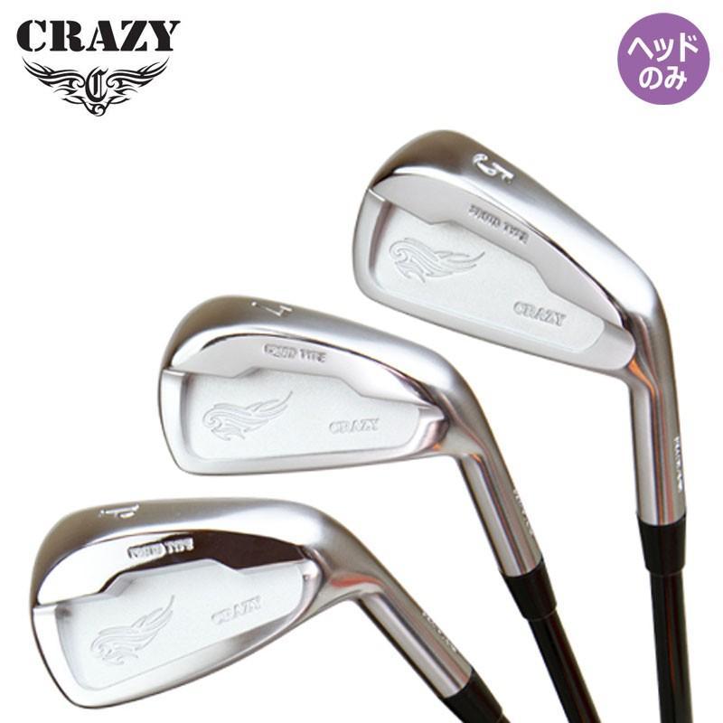 クレイジー ゴルフ CRZ アイアン プロトタイプ ヘッドパーツ 単品 (#3 / #4) ヘッドのみ CRAZY CRZ-IRON Proto Type Single HEAD ONLY 18aw