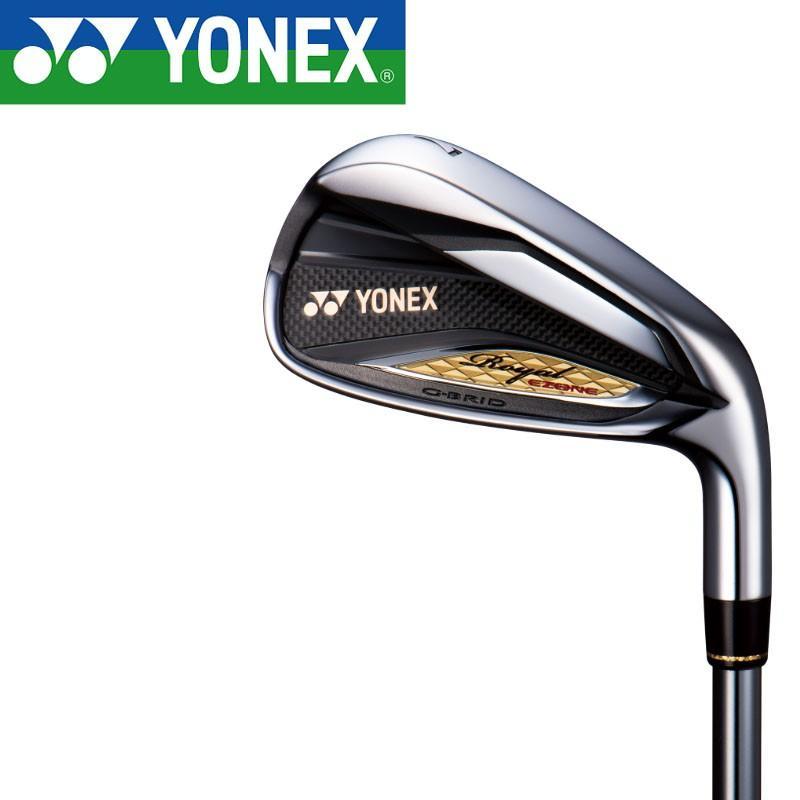 ヨネックス ロイヤル イーゾーン アイアン 4本セット(#7,8,9,Pw) 2019年モデル 専用カーボンシャフト 男性用 YONEX Royal EZONE Iron set 19ss