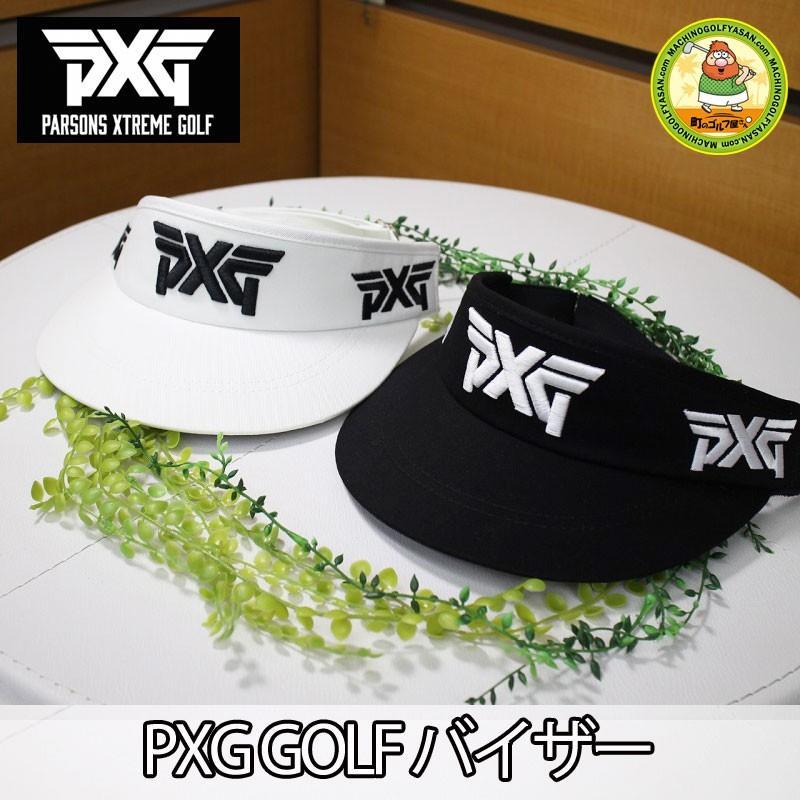 国内未発売!【PXG】 PARSONS XTREME GOLF  ゴルフ バイザー パーソンズエクストリームゴルフ フリーサイズ ホワイト ブラック PXG【18ss】