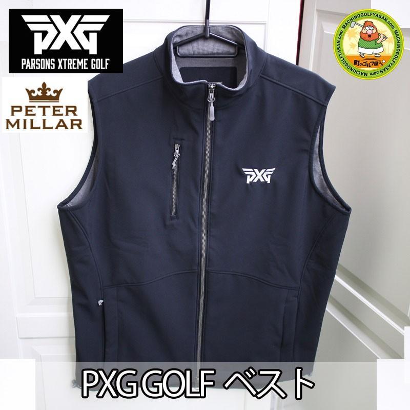 当季大流行 【PXG】 PARSONS XTREME GOLF PETER MILLER ゴルフ ジッパー付きベスト ブラック 黒 大きめ ゆったり USサイズM 日本のLサイズぐらい 【18ss】, 輸入家具のインテリア北欧 f1c06321
