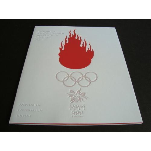 「長野オリンピック開会式・閉会式プログラム(2冊セット)」[B170155] machinoiriguchi2 02