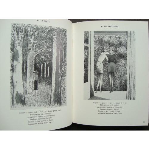 「カシニョール版画作品集(Jean-Pierre Cassigneul Oeuvre Grave 1965-1975)」[B190127]|machinoiriguchi2|05