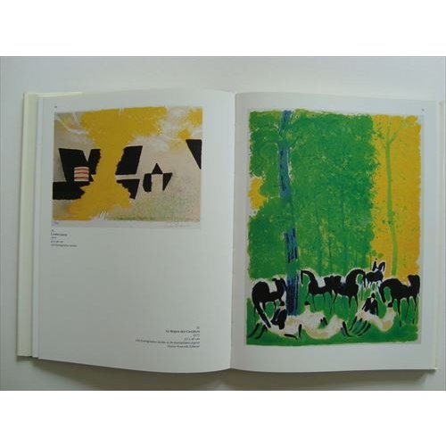 「ブラジリエ リトグラフカタログレゾネ(Andre Brasilier Lithographe 1958-1981)」[B200274]|machinoiriguchi2|03
