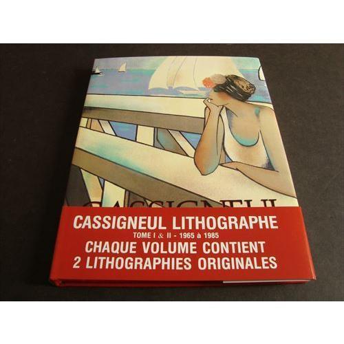 「カシニョール版画カタログレゾネ 1・2(2冊揃)Cassigneul Lithogrphe Tome 1&2 - 1965 a 1985(各巻リトグラフ2点入り)」[B200391]|machinoiriguchi2|02