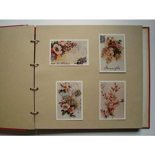 「花の装飾画の写真120枚入りアルバム」[B210004]|machinoiriguchi2|03