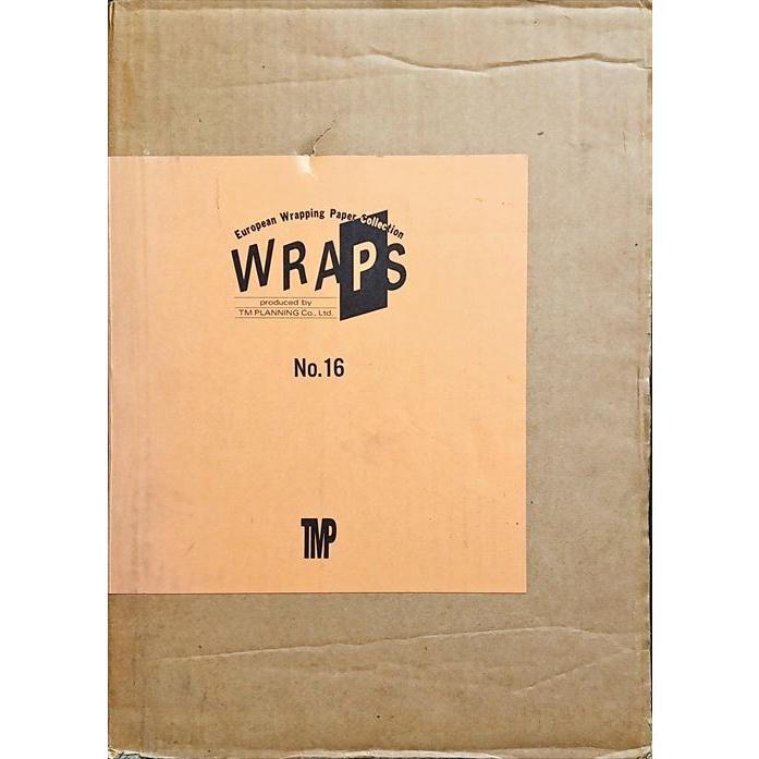 「ヨーロピアン・ラッピング・ペーパー・コレクション No.16(WRAPS European Wrapping Paper Collection)」[B210010]|machinoiriguchi2