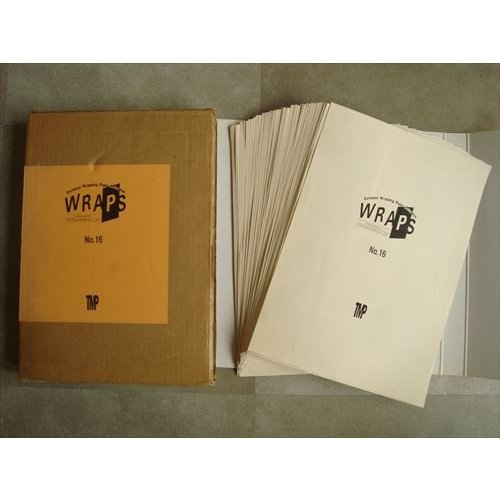 「ヨーロピアン・ラッピング・ペーパー・コレクション No.16(WRAPS European Wrapping Paper Collection)」[B210010]|machinoiriguchi2|02