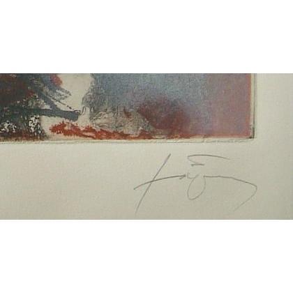 アントニ・タピエス「Ales」(版画)【額縁付き】[A140008]Antoni Tapies machinoiriguchi2 03