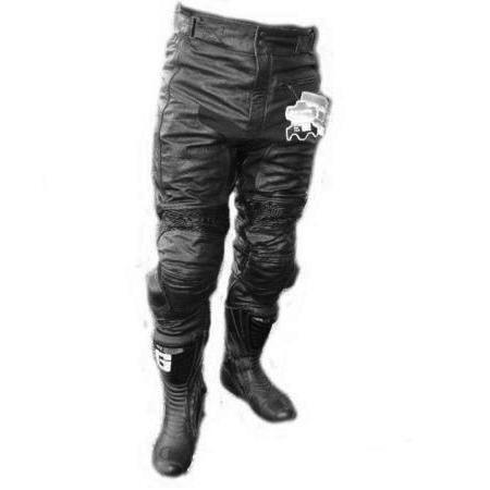 販売 春夏用 パンチングメッシュタイプ バイクツーリング 送料込 レザーパンツ 柔らかいなめしバッファローレ バンクセンサー付ブーツイン