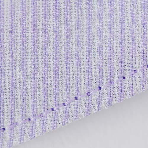 モダン和紙織りマスク パステルカラー パープル(紫) 小さめサイズ(S) 抗菌 消臭 蒸れにくい 日本製 和風 着物に最適 女性やお子さまに madoastartstore 02