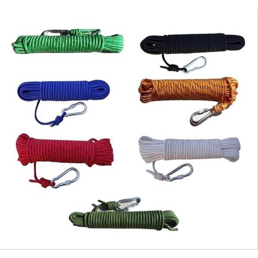 商舗 クライミング ロープ 買取 8mm 10m ザイル ガイ アウトドア 登山 キャンプ