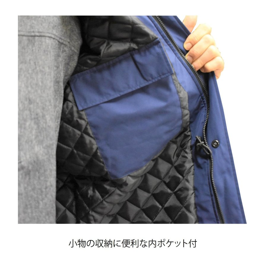 MAEGAKI H01 GORE-TEX WARM JACKET 作業用 ゴアテックス 防寒 レインウェア ジャケット|maegaki|08