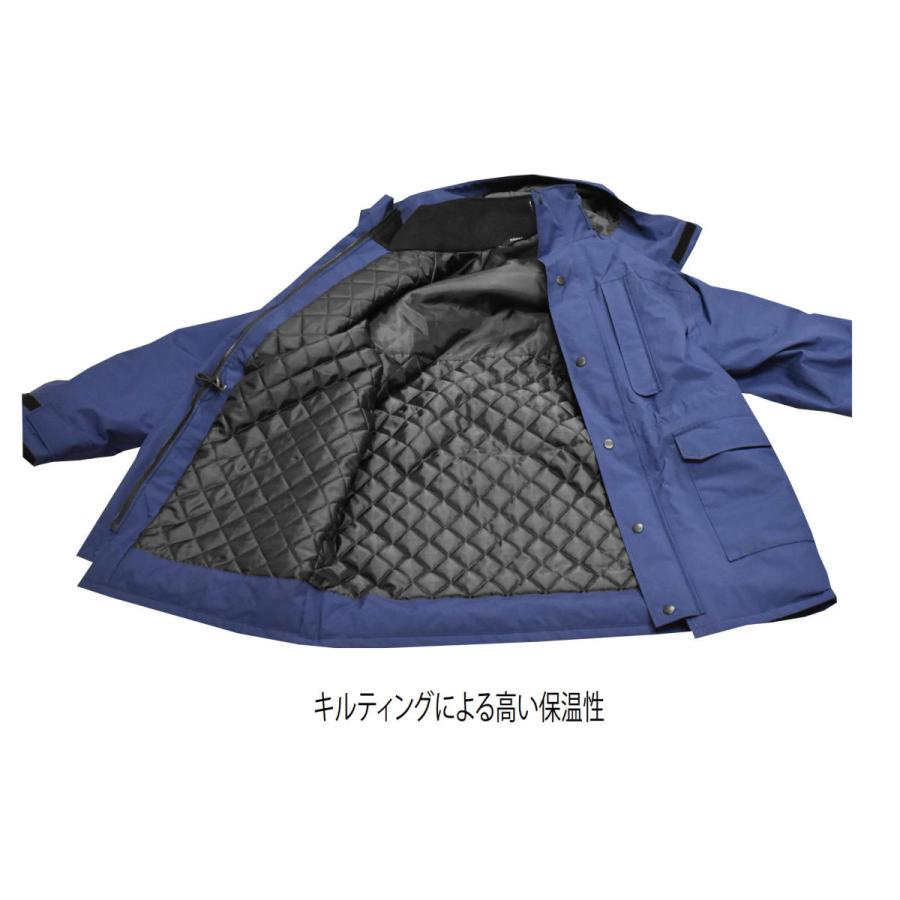 MAEGAKI H01 GORE-TEX WARM JACKET 作業用 ゴアテックス 防寒 レインウェア ジャケット maegaki 09