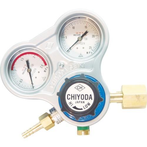 千代田 酸素用調整器スタウト(関東式)乾式安全器内蔵型 SRO-A-E