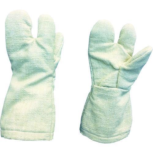 TRUSCO 生体溶解性セラミック耐熱手袋・3本指タイプ TCAT3-A