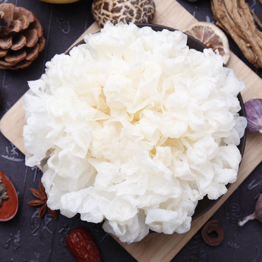 乾燥 白きくらげ(300g) 白木耳 銀耳 中国産 業務用 キクラゲ 高級 中華食材|magao-jp|03