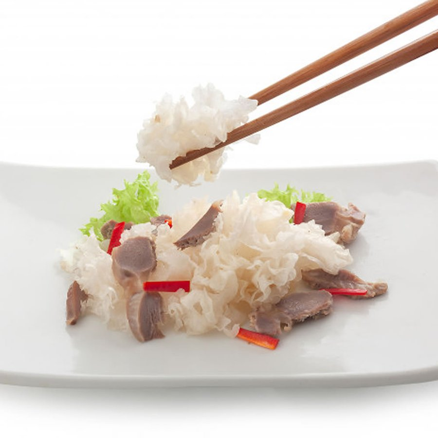乾燥 白きくらげ(300g) 白木耳 銀耳 中国産 業務用 キクラゲ 高級 中華食材|magao-jp|06