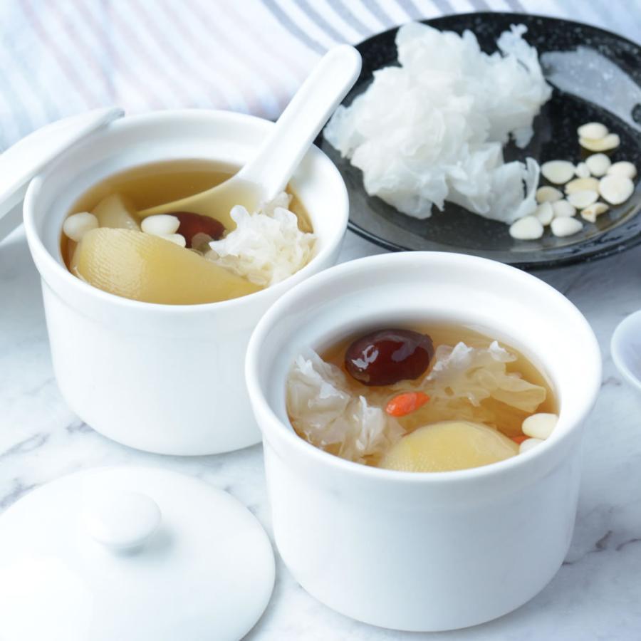 乾燥 白きくらげ(300g) 白木耳 銀耳 中国産 業務用 キクラゲ 高級 中華食材|magao-jp|07