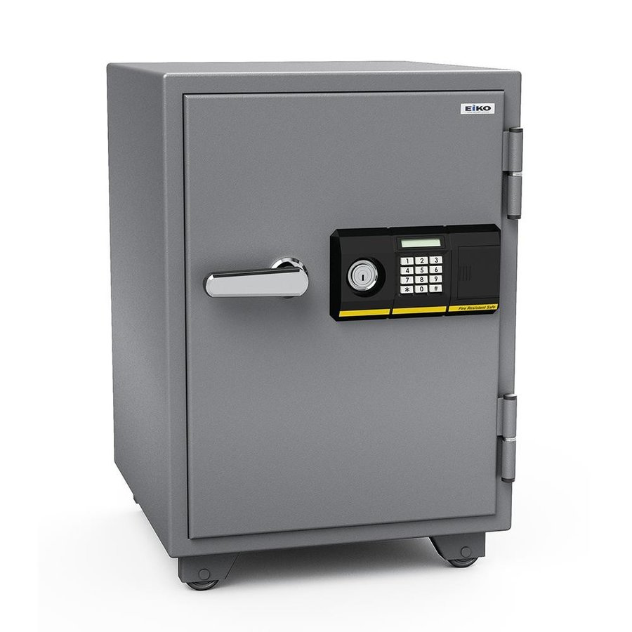 送料無料 家庭用テンキー式+シリンダー式 小型耐火金庫 STANDARD スタンダード 51L 665PK代引き不可/同梱不可
