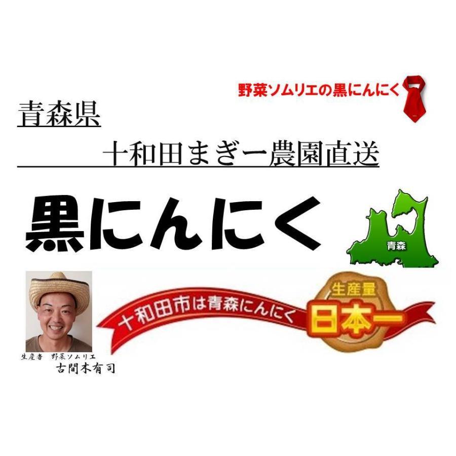 野菜ソムリエの甘い黒にんにく 送料無料 500g 波動熟成 (完売しました。)  maggysfarm-towada 14