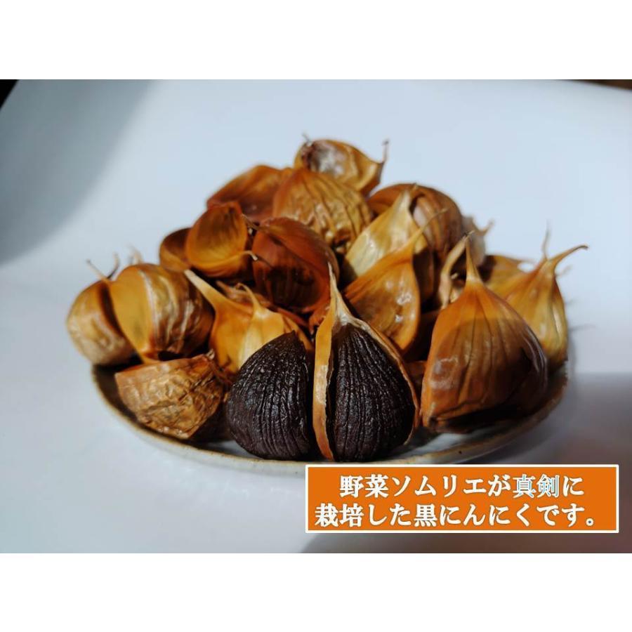 野菜ソムリエの甘い黒にんにく 送料無料 500g 波動熟成 (完売しました。)  maggysfarm-towada 16