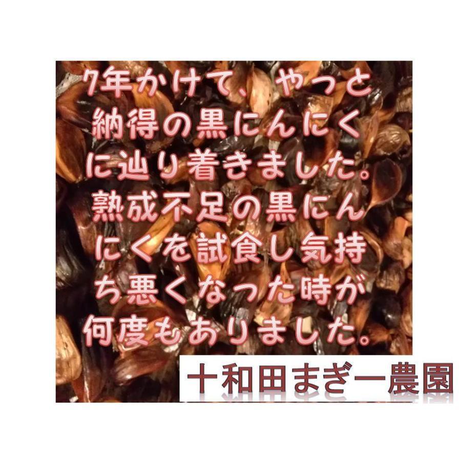 野菜ソムリエの甘い黒にんにく 送料無料 500g 波動熟成 (完売しました。)  maggysfarm-towada 08