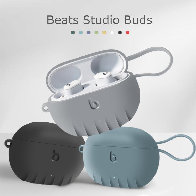 Beats 豊富な品 Studio Buds イヤホンケース キズ防止 耐衝撃 滑り止め シリコン 全面保護カバー 指紋防止 耐久 薄型 かわいい おしゃれ シンプル 高品質 ケース 大放出セール 充電