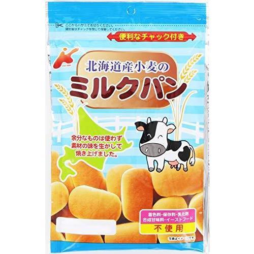 カネ増製菓 超定番 いよいよ人気ブランド 北海道小麦のミルクパン 45g ×12袋