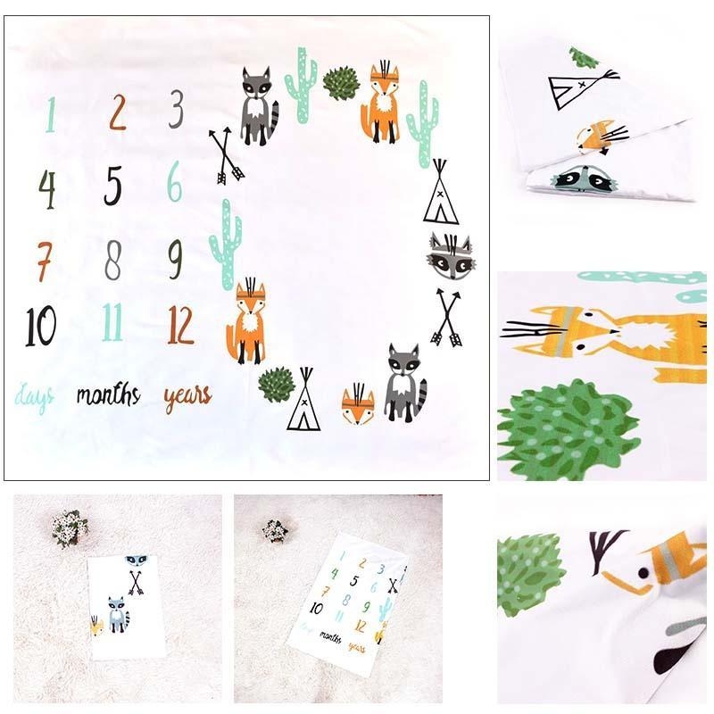 月齢フォトシーツ 月齢フォトシート 寝相アート お昼寝アート おひるねアート 100日 出産祝い ベビーギフト  記念日フォト|magic-square|05