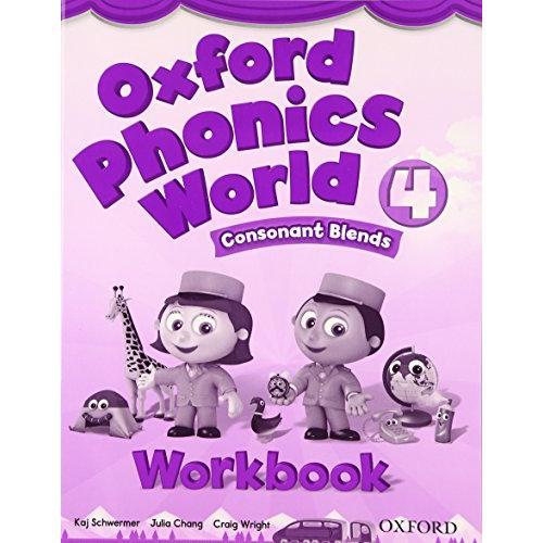 売却 未使用 Oxford Phonics World: Workbook Level 4: