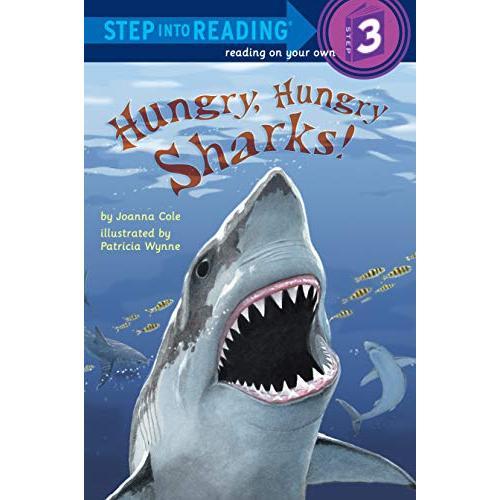 Hungry Sharks Step Into Reading 定番の人気シリーズPOINT(ポイント)入荷 Series 3 数量は多 1-3 Grades