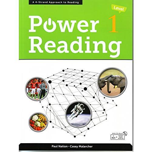 POWER READING 1 休み with CD CD-ROM 限定価格セール MP3 amp;