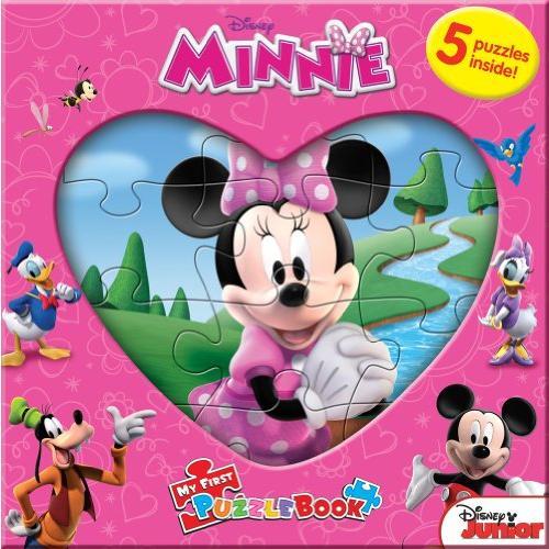 Disney Minnie My Book First Puzzle 国内正規品 日本製