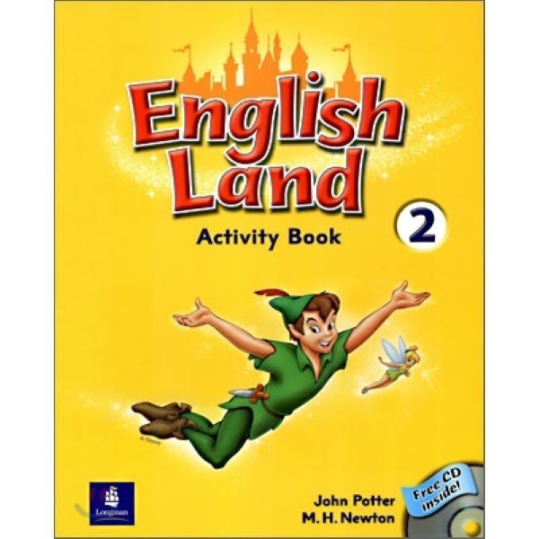 English 2020モデル Land 2:Activity Book with Audio CD M.H.Newton 完売 John Potter