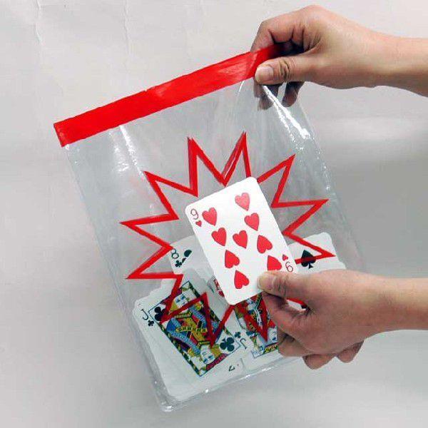 V5321 販売 クリアー 受注生産品 フォーシングバッグ マジック 手品