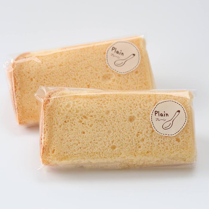 米粉のシフォンケーキ プレーン 6カットセット グルテンフリー 養生卵使用|magosaku-food|02
