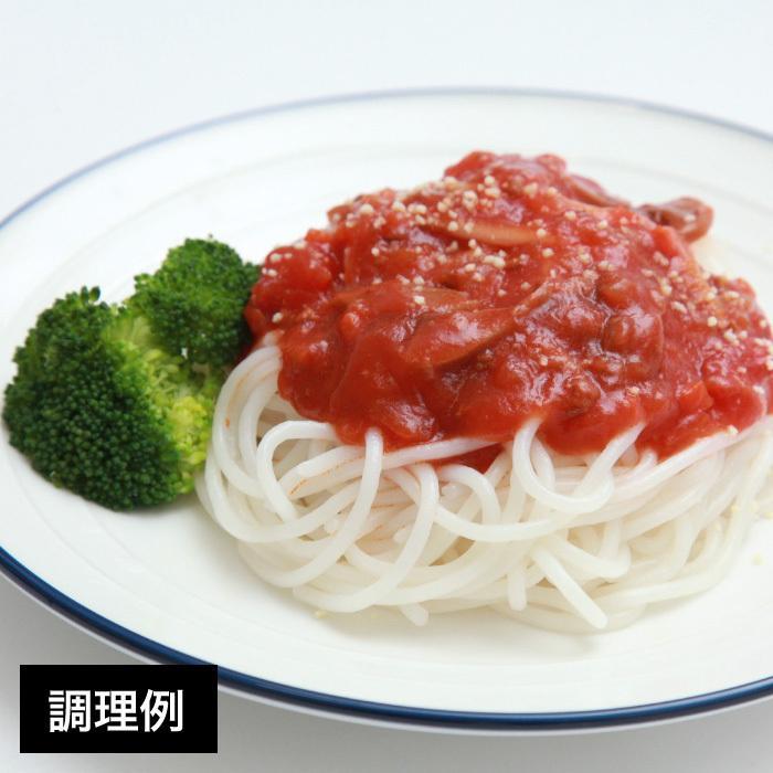 米の麺 丸麺 5食パック 米粉麺 新潟県産コシヒカリ100%の米粉 グルテンフリー|magosaku-food|03