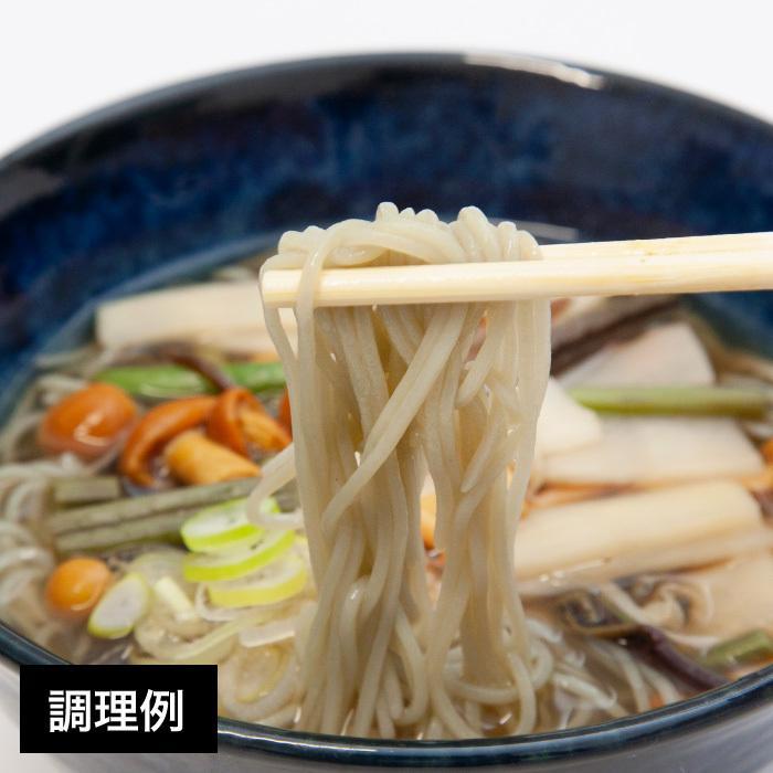 米の麺 よもぎそうめん 5食パック 米粉麺 新潟県産コシヒカリ100%の米粉 グルテンフリー magosaku-food 03