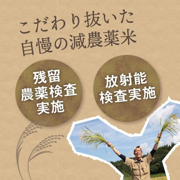 減農薬栽培米 コシヒカリ 精米 2Kg 新潟県産 こしひかり|magosaku-food|02