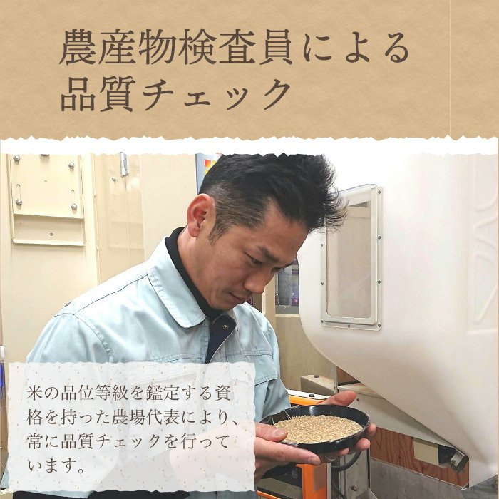 コシヒカリ 有機栽培米 無農薬 玄米 5Kg 新潟県産 こしひかり お米 magosaku-food 08