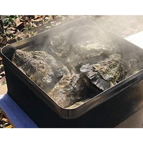 殻付き 牡蠣 カキ カンカン焼きセット 大粒 3kg 海鮮 バーベキュー かんかん焼き LLサイズ 20個〜23個入 3〜4人前  ガンガン焼き BBQ アウトドア|maguro441|15