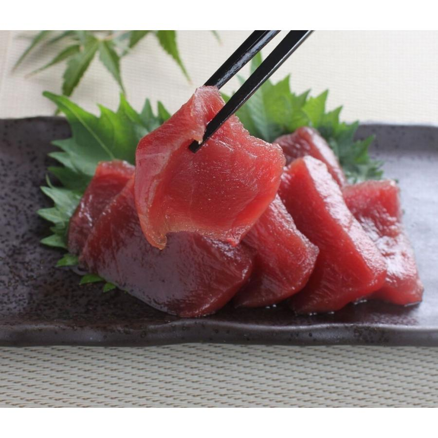 まぐろ マグロ 鮪 本マグロ 赤身 ブロック 柵 刺身 海鮮 グルメ ギフト 本マグロ赤身300g 「解凍レシピつき」 2〜3人前|maguro441|03