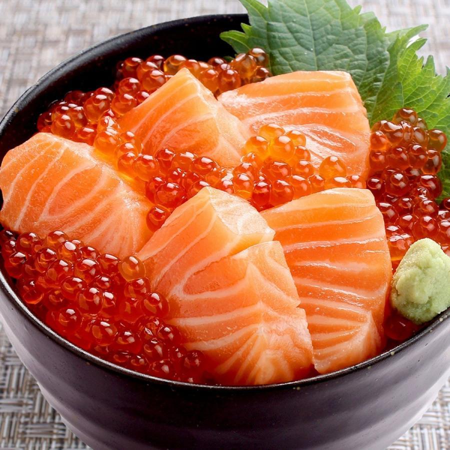 お中元 海鮮 ギフト 送料無料 サーモン イクラ 丼 高級 海鮮セット 海鮮丼 刺身 2〜3杯分 お父さん お母さん 贈り物 プレゼント 食べ物|maguro441|06