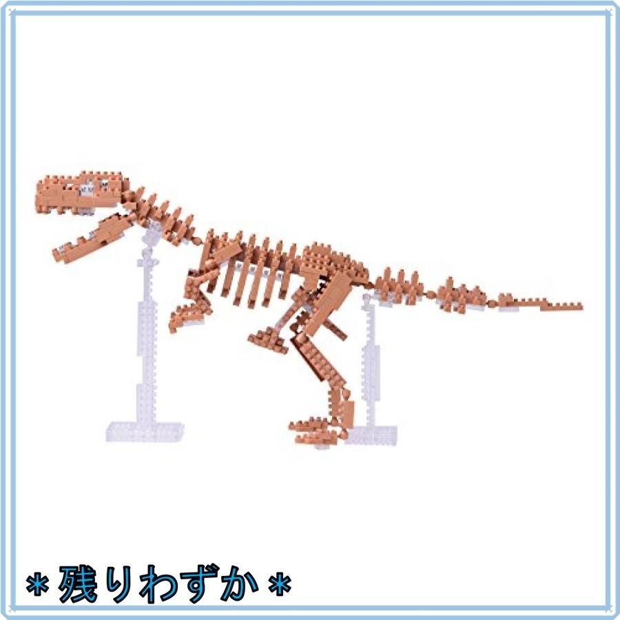 ナノブロック ティラノサウルス骨格モデル NBM-012|mahalocastle|03