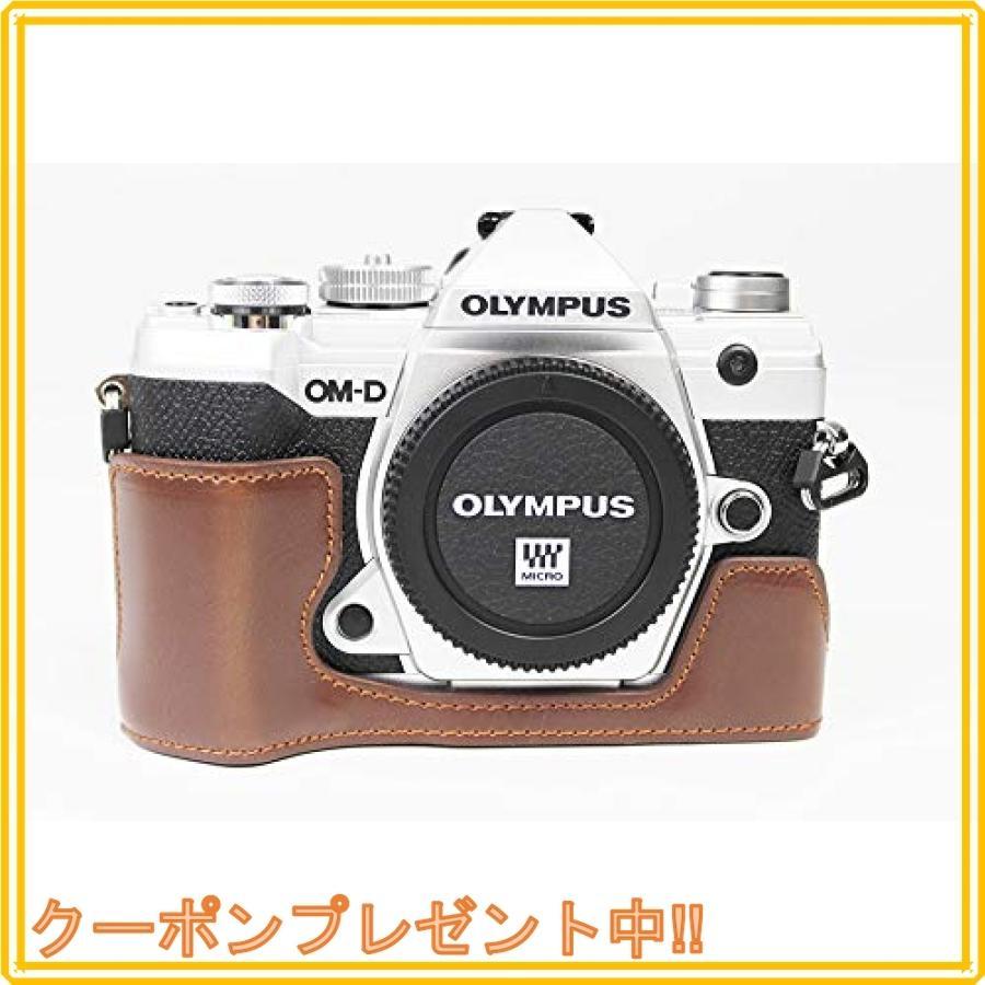 対応 Olympus オリンパス PEN OM-D E-M5 Mark III カメラ バッグ カメラ ケース 、Koowl手作りトップクラスのPUレザーカメ|mahalocastle