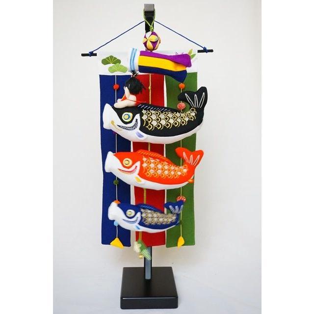 鯉ものがたり(のれん付) 75cm 金太郎付 五月 端午の節句 室内鯉飾り