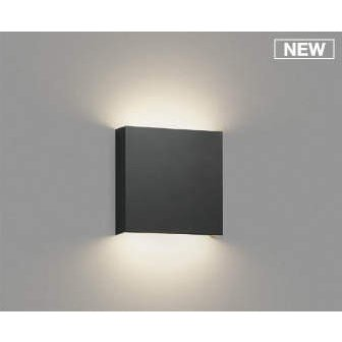 コイズミ照明 AB50243 ブラケットライト コイズミ照明 AB50243 ブラケットライト LED一体型 調光 温白色 60W相当 ブラック [(^^)]