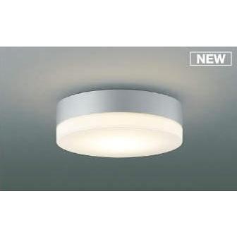 コイズミ照明 AU50482 アウトドアライト LED一体型 調光 電球色 防雨・防湿型 ねじ込式 直・壁取付 傾斜天井対応 シルバー [(^^)]