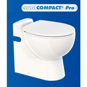 排水圧送粉砕ポンプ一体型トイレ SFA C11LVSE-100 サニコンパクトプロ 普通便座モデル [·■]